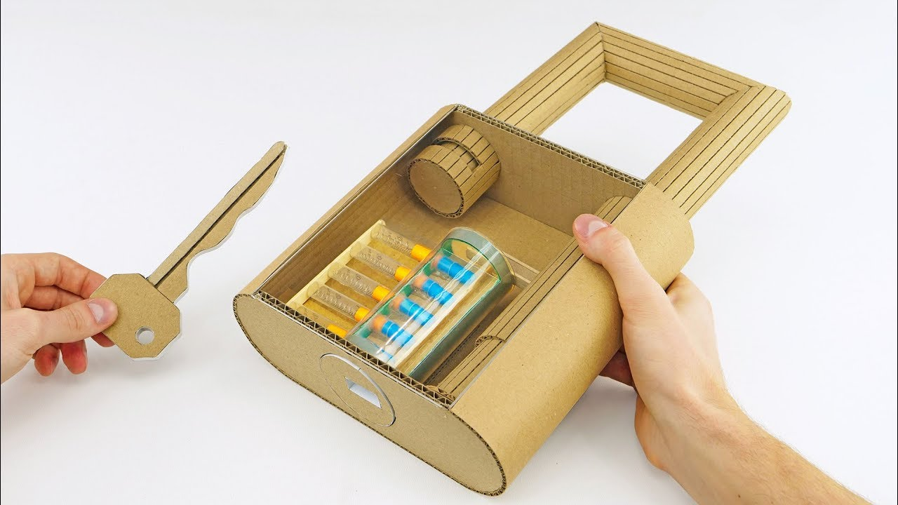 How to Make Fully Functional Lock from Cardboard