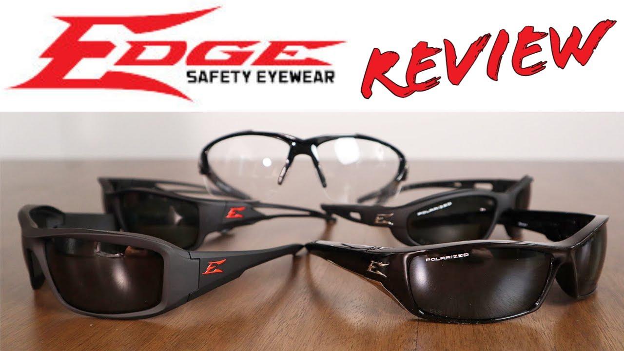 Edge Safety Glasses Review - Polarized Sunglasses & Anti-fog Safety Glasses