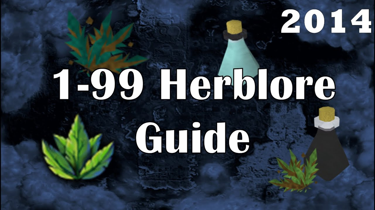 1 99 herblore guide cheapest fastest herb training for Runescape exp table 1 99