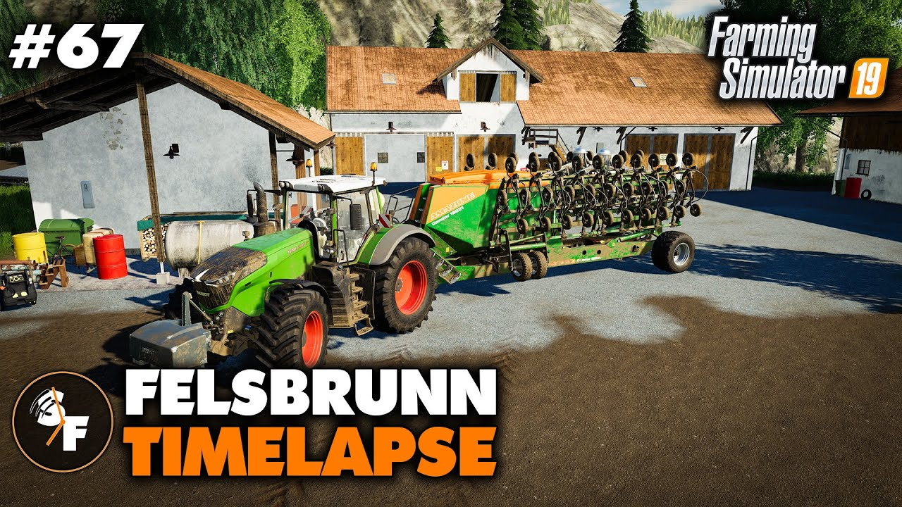 FS19 Timelapse Felsbrunn #67 New Seed Drill - Самые лучшие видео