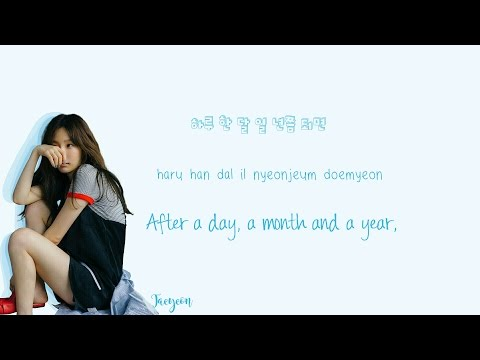 Free Download Taeyeon - Fine Lyrics (han|rom|eng) Color Coded Mp3 dan Mp4