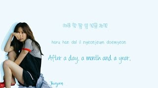 Gambar cover TAEYEON - Fine Lyrics (Han|Rom|Eng) Color Coded