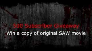 500 Subscriber Giveaway [ENDED]