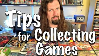 Top 10 TIPS for GAME COLLECTING from Metal Jesus