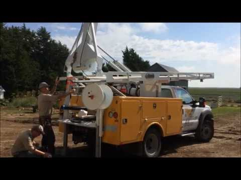 Hunke 6T Pump Hoist Pulling Water Well Pump