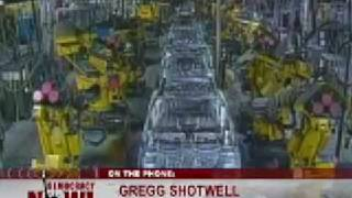 UAW Activist Gregg Shotwell on Democracy Now - 12/19/08 (Part 1 of 2)