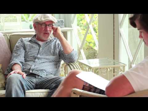 Steven Spielberg discusses his dyslexia for the first time ever, on 12 September, 2012