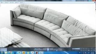 Моделирование диван матрасы в marvelous designer