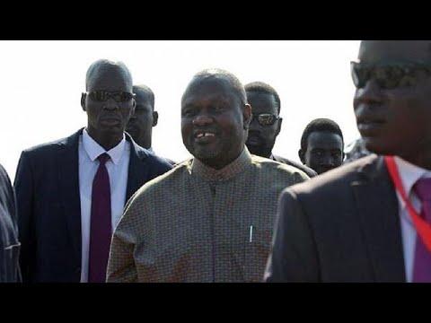 Ex-South Sudan VP Machar arrives in Juba for peace celebration