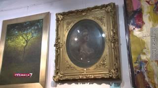 Новая антикварная галерея «Коносьеръ» в Севастополе(сайт видеостудии
