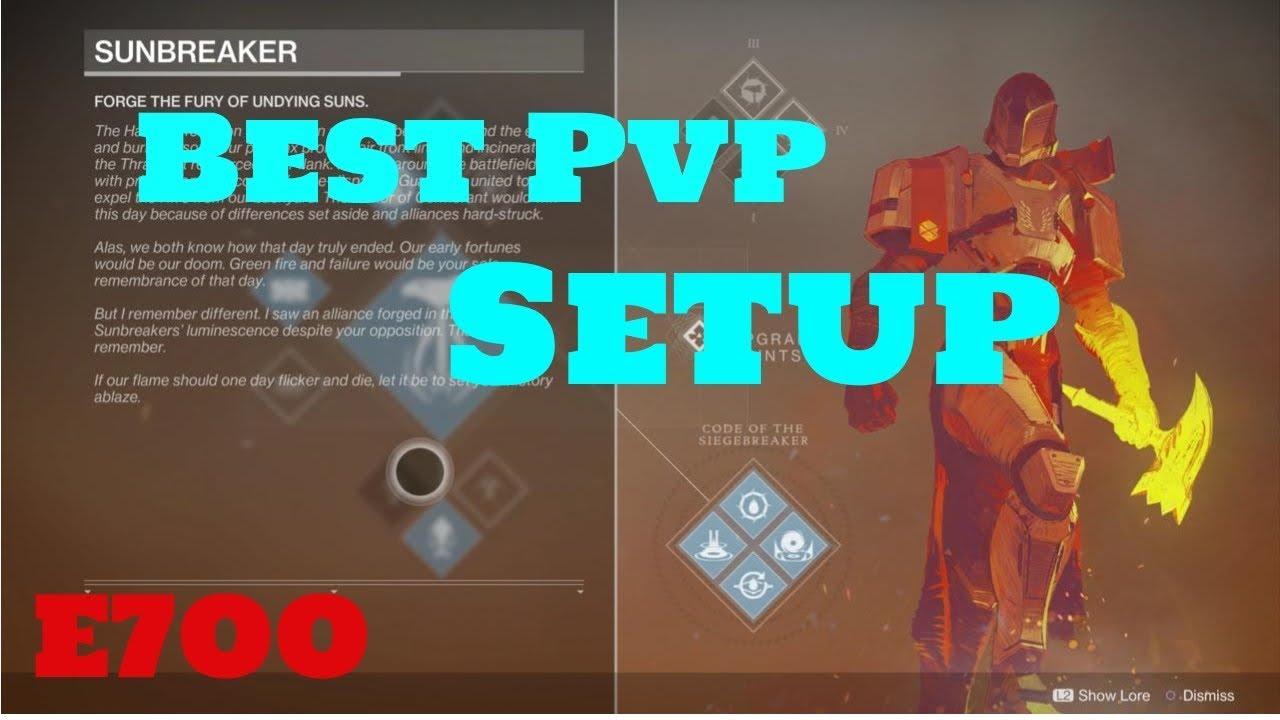 Destiny 2 Best Titan PvP Build