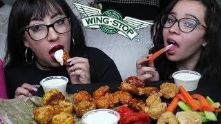 WINGSTOP MUKBANG | EATING SHOW {AGAIN) LOL