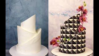 Торт сложной формы Узор на торте геометрическая иллюзия