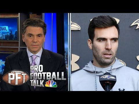 Can Lamar Jackson carry Ravens with Joe Flacco as second? | Pro Football Talk | NBC Sports