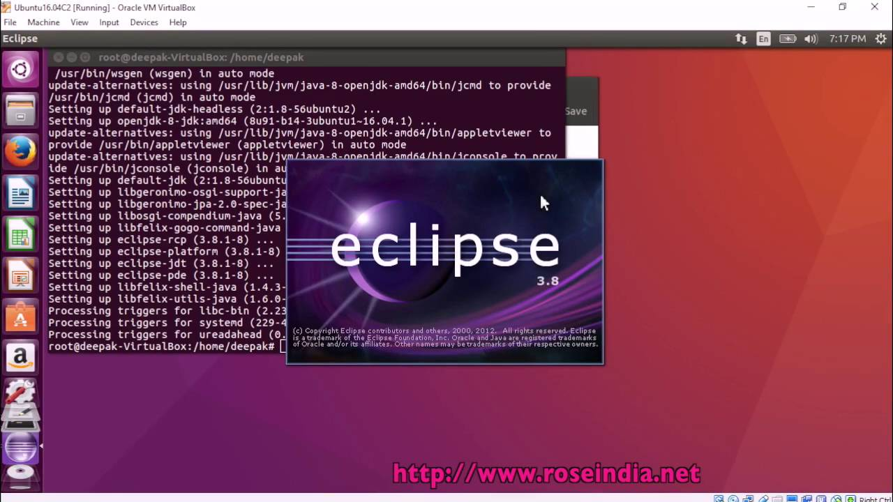 eclipse su ubuntu