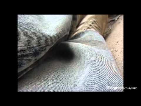 Cameraman in Yemen films his own shooting