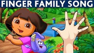 finger family dora the explorer daddy finger song dora the explorer nursery rhymes for children