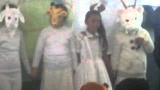 Fábula de el toro y las cuatro cabras