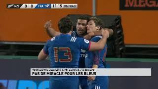 Tournée du XV de France en Nouvelle-Zélande - Match 3
