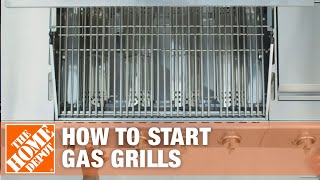 How to Start a Gas Grill