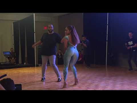 Alex y Desiree Dominican Bachata Workshop 2 @ Los Angeles BKS Festival 2017
