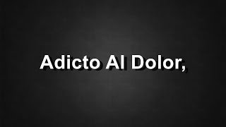 Adicto Al Dolor - Camila - Nueva Canción - Letra - HD