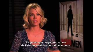 January Jones : ¿Cuál es la clave del éxito mundial de Mad Men?