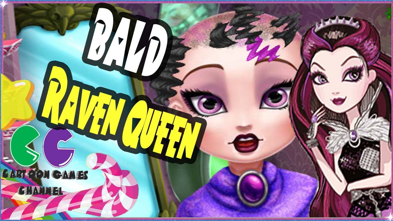 Bald Raven Queen Real Crazy Haircuts Ever After High Real Haircuts
