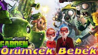 Örümcek Bebek Örümcek Çocuk ile Plants vs Zombies Garden Warfare Oynuyor