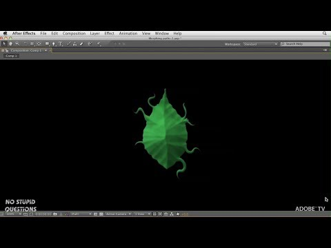 Animating Organic Illustrator Paths in After Effects