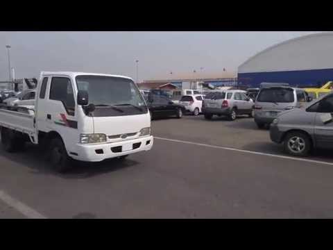 Korea Auction Trade Bongo frontier 1.3ton