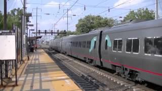 Railfanning the NEC at North Elizabeth, New Jersey  7/1/2015