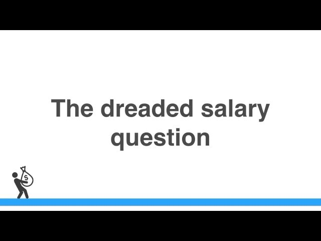 Whats your current salary is a trap question—Heres how to answer it