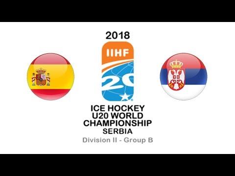 World Championship U20 D2B / Spain - Serbia