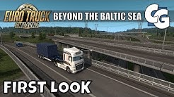 ETS2 - Beyond the Baltic Sea First Look - Entering Finland
