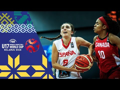 Spain v Canada - Full Game - Round of 16 - FIBA U17 Women's Basketball World Cup 2018