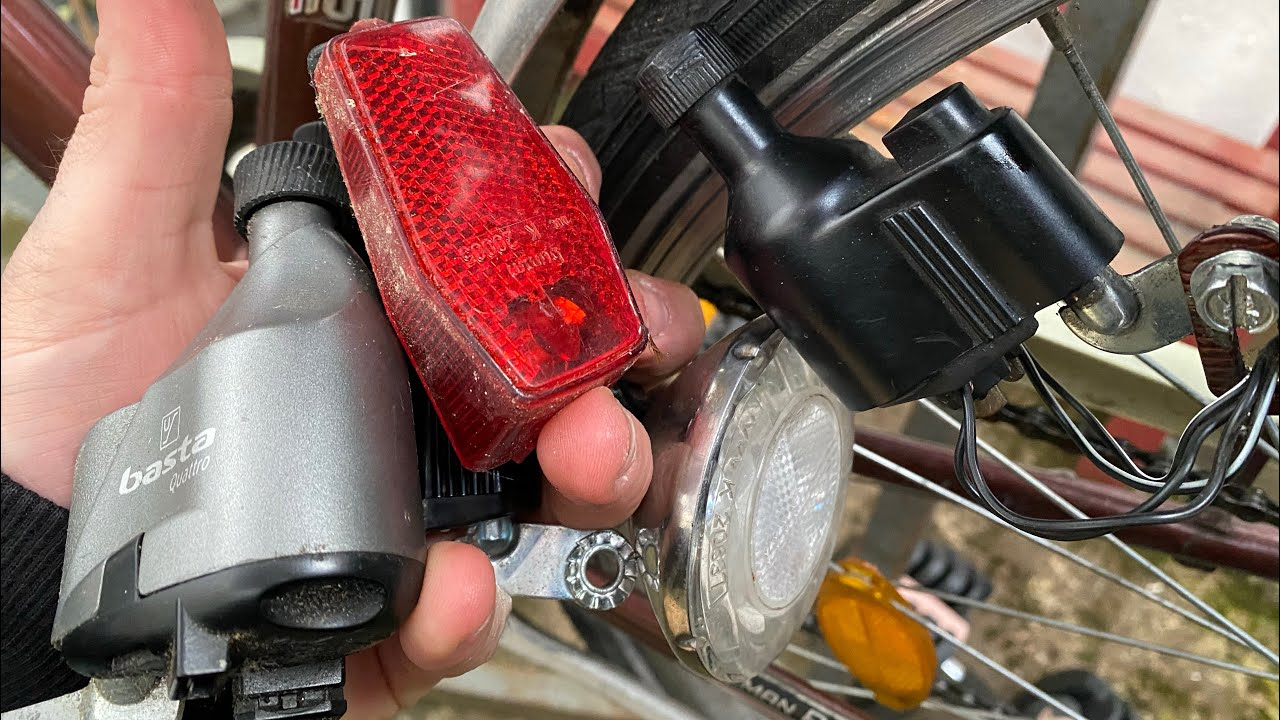 Anschließen kabel fahrradlampe 4 Anleitung: Die