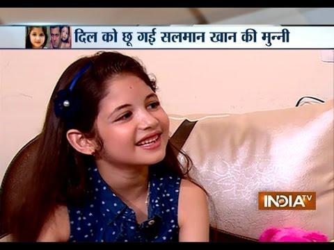 Bajrangi Bhaijaan: Harshali Malhotra Exclusive Interview - India TV