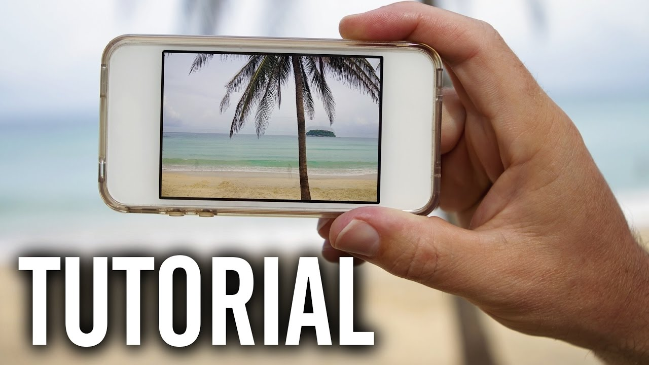 How to Blur the Background of Your iPhone Photos - YouTube