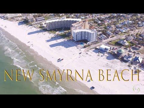 New Smyrna Beach, FL - Beach House Party (Drone Shot)