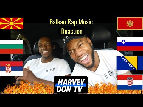 Balkan Rap Reaction #HarveyDonTV @Raymanbeats