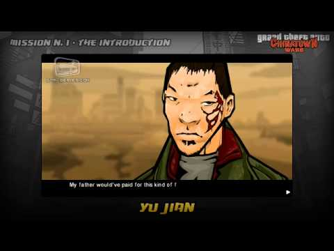 GTA Chinatown Wars - Intro & Mission #1 - Yu Jian