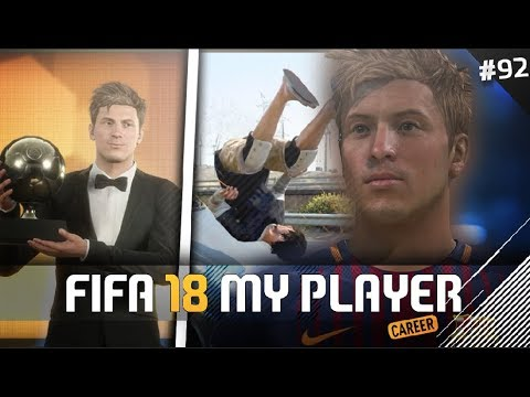 BALLON D'OR + CAR ACCIDENT💀| FIFA 18 Player Career Mode w/Storylines | Episode #92