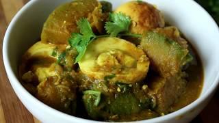 How to Cook ডিম দিয়ে মিষ্টি কুমড়ার রেসিপি