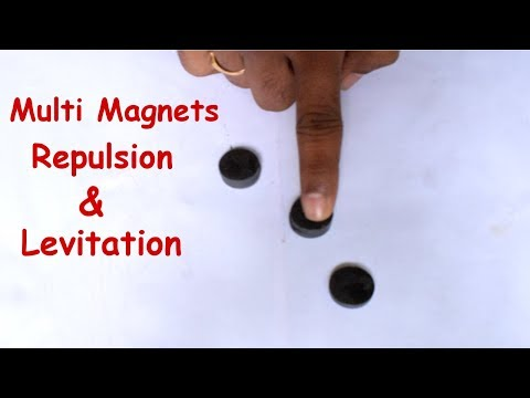 magnetic levitation experiment must watch | Magnet Experiment
