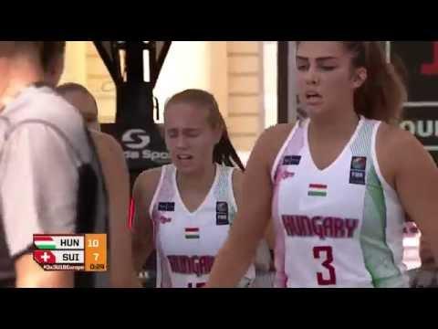 Hungary - Switzerland 3x3 Basketball Women U18 EC 2016