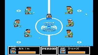 Ike ike Hockey. F18 version. Two games. Expert mode. Super-zone. screenshot 5