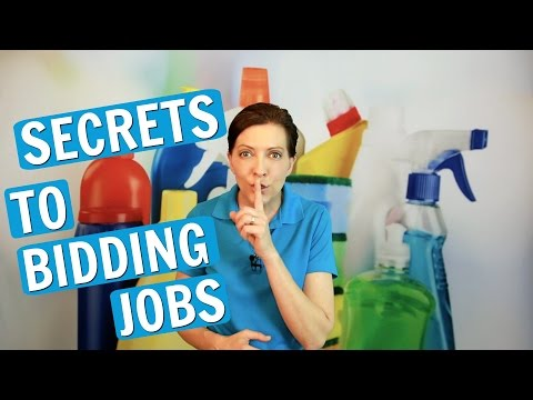 Bidding Residential Cleaning Jobs - Secrets and Tips (2017)