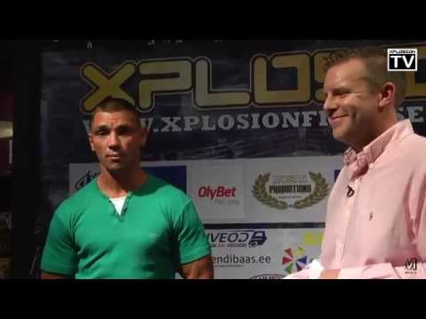 Xplosion Fight Series 11.09.15 press conference