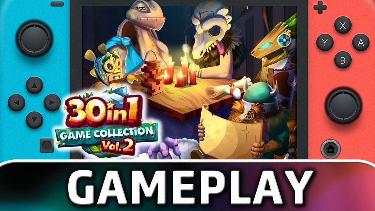 30-in-1 Game Collection Vol. 2 | First 10 Minutes on Nintendo Switch